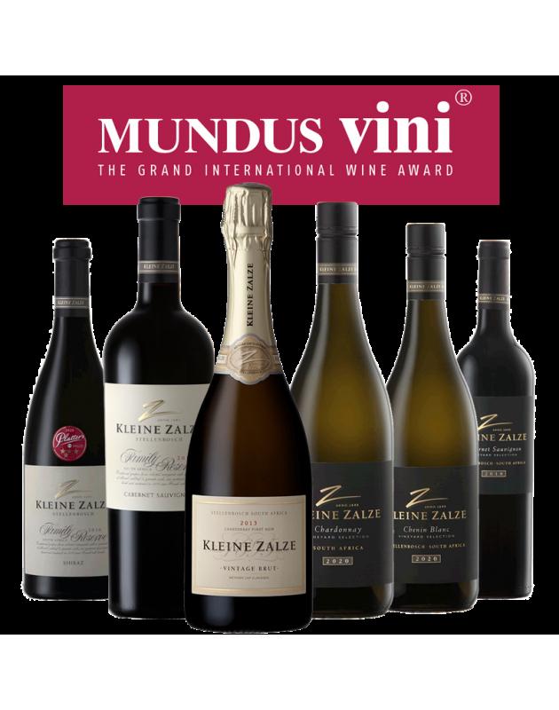 Kleine Zalze MUNDUS VINI Gold Winners Pack