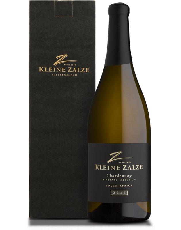 Kleine Zalze Vineyard Selection Barrel Fermented Chardonnay 2016 Magnum Gift Box