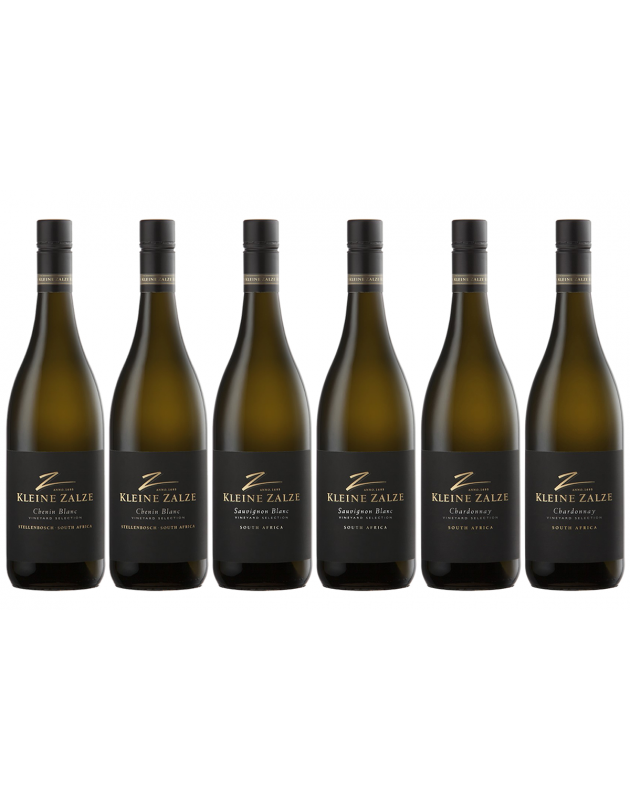 Kleine Zalze Vineyard Selection White Mixed Case